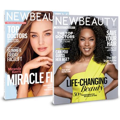 NewBeauty magazine covers